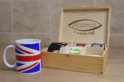 čaj a káva jsou na lekci zdarma :-)