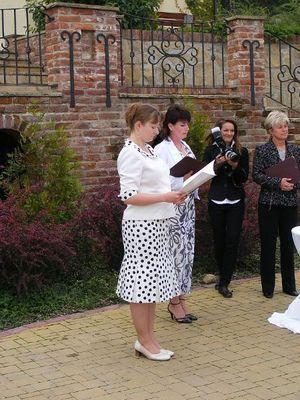 Soudní tlumočení svatby (léto 2010)
