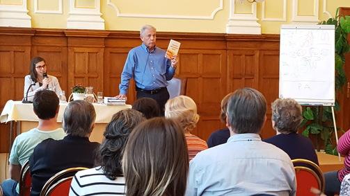 Konsekutivní tlumočení na semináři Franka Kinslowa v Olomouci