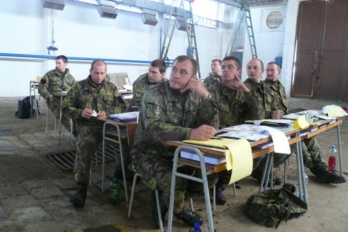 obrněné transportéry PANDUR, školení řidičů - říjen 2007