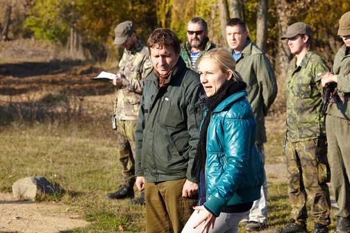 Konsekutivní tlumočení - Armypark Ořechov